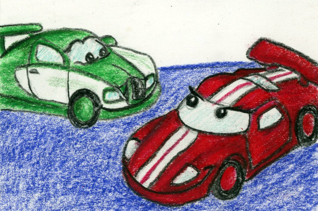 Race Cars: a story and guided meditation for kids
