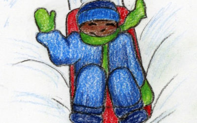 435. First Snowfall: a mindful bedtime story