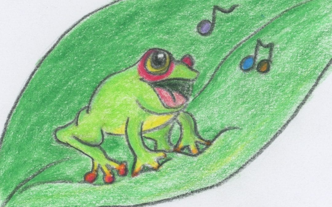 Frog Songs: a story and guided meditation for kids