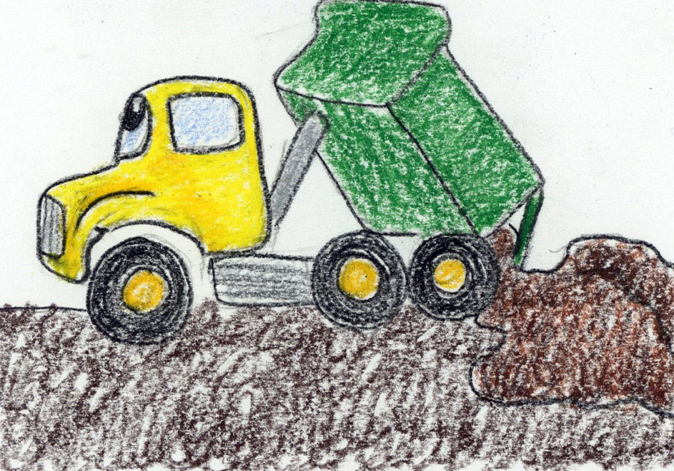Dump Truck Delight: a kid's bedtime, nap time story and relaxation