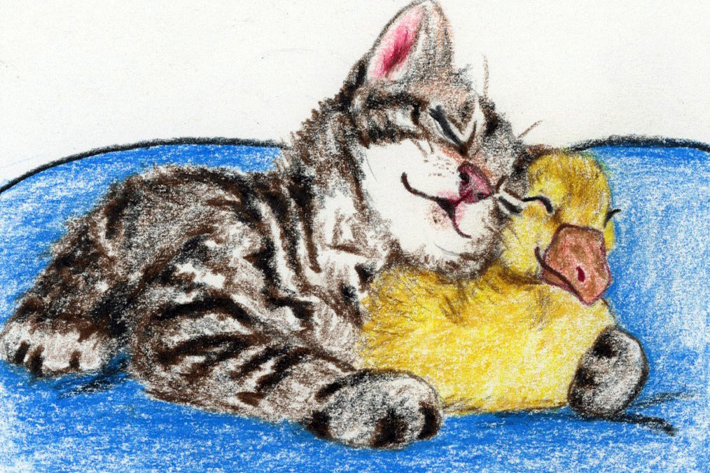 Kitten Love: a relaxing bedtime story