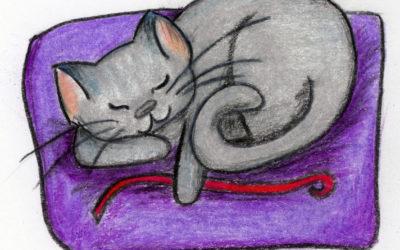 415. Mesmerizing Ribbons: a calming meditation and story
