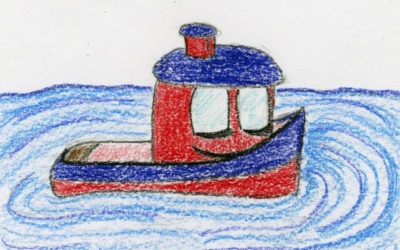 Twirling Tugboat: a relaxing bedtime story for kids