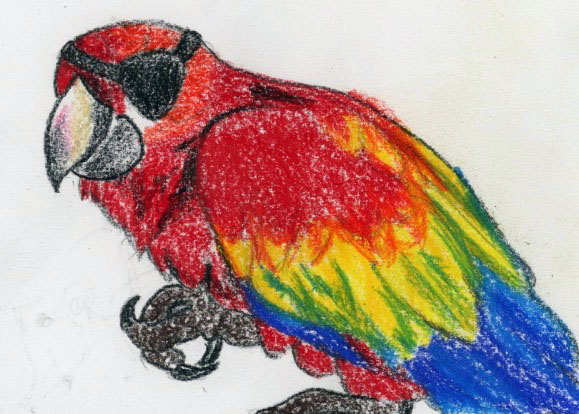 Polite Parrot: a relaxing story for kids