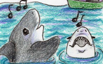 Rockin' Sharks: a kid's story and guided meditation