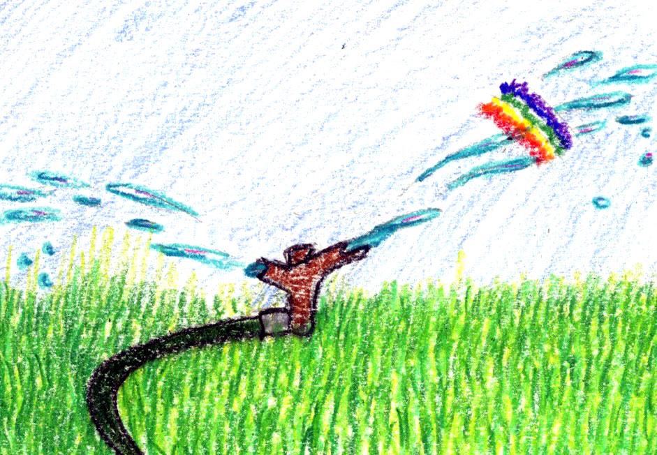 Sprinkler Games: a bedtime story and meditation