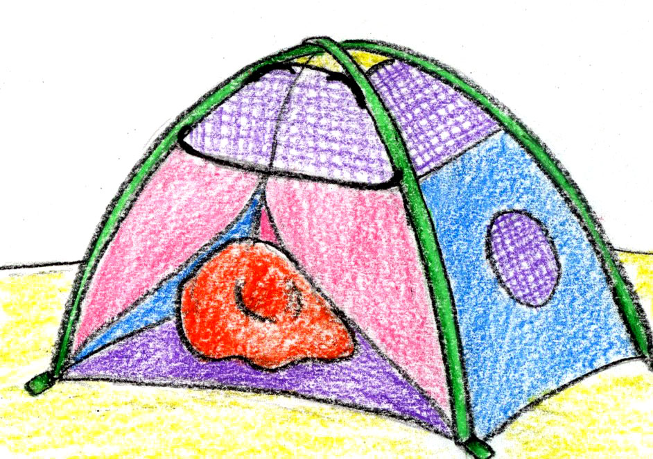 Colorful Toy Tent