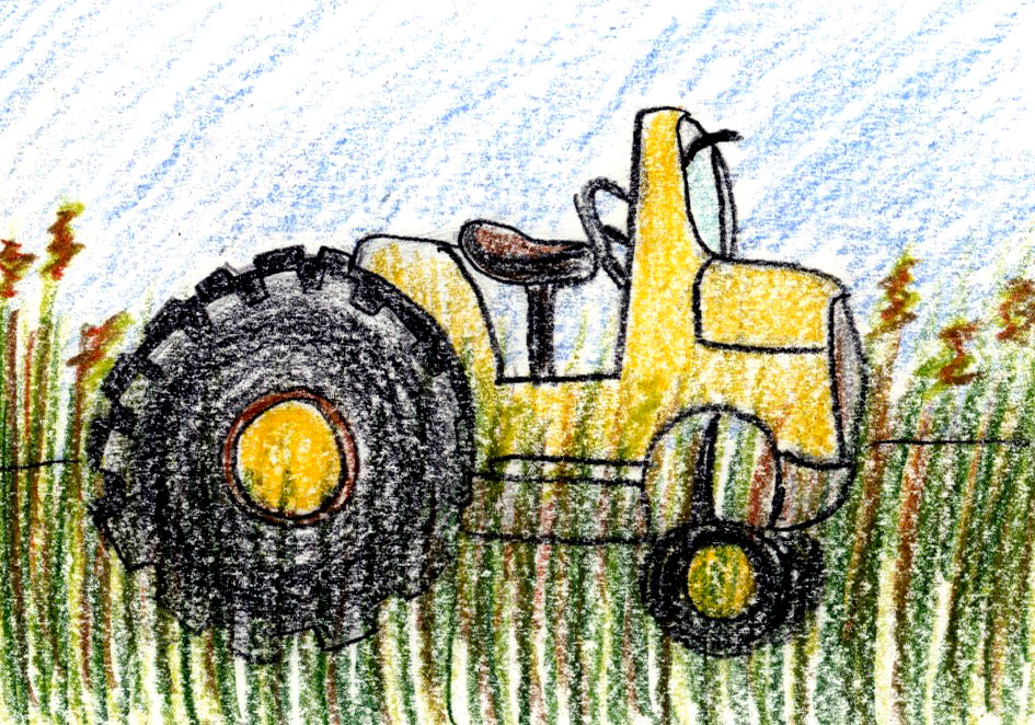 Tractor Trails: a soothing kid's story when you need a break