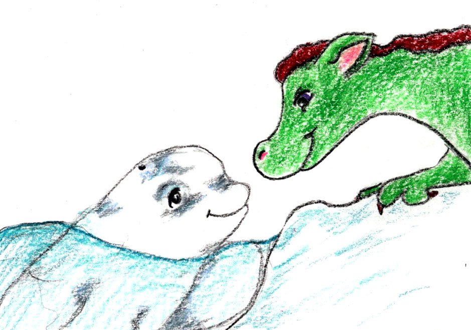 Dragon on Ice: a relaxation and story for your naptime routine